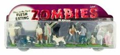 Accoutrements Glow In The Dark Flesh Eating Zombies Play Set (Disclosure - Affiliate link)