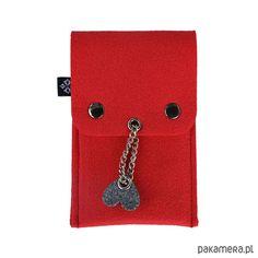 pokrowce i etui-Etui na długopisy i ołówki - czerwone