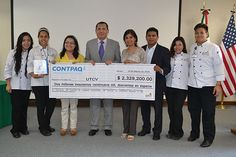 UTCV: Empresa CONTPAQI dona software por más de 2 millones de pesos.