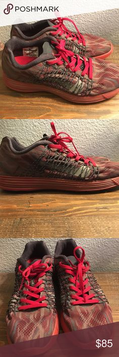 Nike Gyakusou lunaracer running shoes Red Nike Lab Gyakusou running shoes. Work twice and never run in! Nike Shoes Sneakers