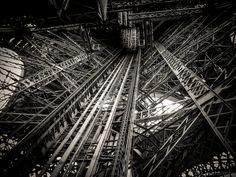 Inside Eiffel Tower - Paris - [3072 x 2304] via Classy Bro