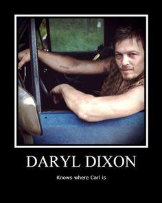 Daryl Dixon, aka the Sherlock Holmes of The Walking Dead.