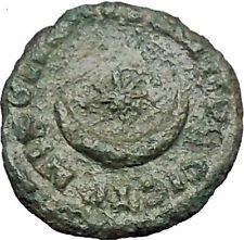 SEPTIMIUS SEVERUS 193AD Nicopolis ad Istrum MOON STAR Ancient Roman Coin i54759