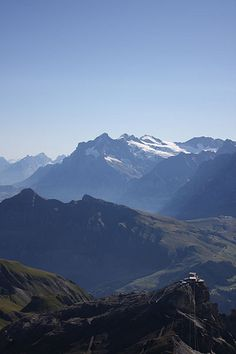 #gimmelwald top of #mount_schilthorn, switzerland (2008)