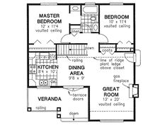 small-houses_10_house_plan_ch175.jpg | house plans | Pinterest ...