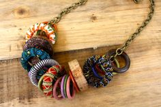 Bohemian Ring Necklace