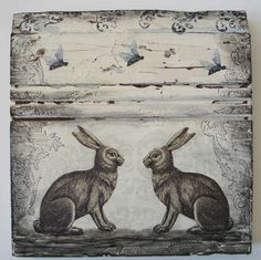 ≗ The Bee's Reverie ≗  Two Rabbits and the Bees