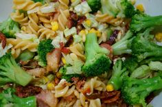 Back on track + dagens middag! Back On Track, Broccoli, Pesto, Bacon, Egg, Chicken, Vegetables, Food, Eggs