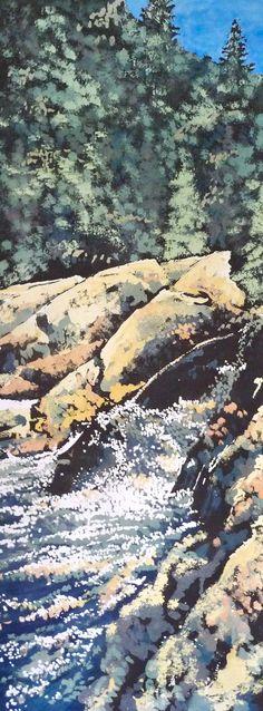 Mixology Artist: Edward Baranski Water Media on Paper