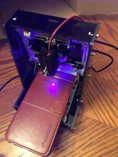 Miniature Laser Engraving