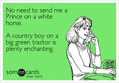 A sexy country boy. Let's be a little more specific, shall we?