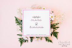 - Card measures - White folding card with pink card layer and white textured card layer both inside and out. Invites, Wedding Invitations, Pink Cards, Handmade Wedding, Kraft Envelopes, Save The Date, Getting Married, Stationery, Messages