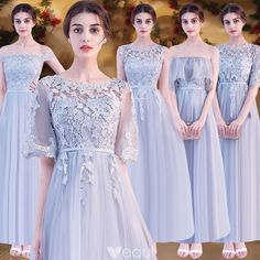 Chic / Beautiful Pearl Pink Lace Bridesmaid Dresses 2019 A-Line / Princess Bow Sash Floor-Length / Long Ruffle Backless Wedding Party Dresses Source by lauzaucpa brokat Gold Brides Maid Dresses, Pink Bridesmaid Dresses Long, Grey Bridesmaids, Cute Prom Dresses, Dresses Dresses, Junior Party Dresses, Wedding Party Dresses, Dress Brokat, Backless Wedding