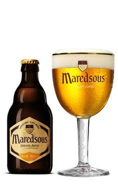 Maredsous Beer an authentic abbey beer, The Maredsous Abbey, Belgium Wine And Liquor, Wine And Beer, Wine Drinks, All Beer, Best Beer, More Beer, Beer Shop, Belgian Beer, Beer Brewery