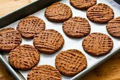Sugar Free/Gluten Free Chocolate cookies.