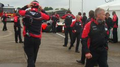 BBC News - F1 Marussia driver Maria de Villota in Duxford crash