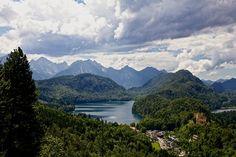 Hohenschwangau, Alpen, Alpsee -#Bayern