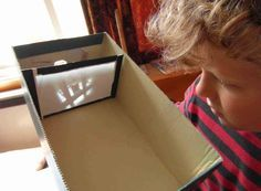 How to make a home made camera obscura