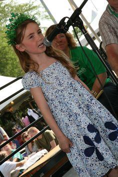 Irish Fest has many activities for kids, like the ShamRock Stars Singing Contest. Irish Fest is July 11, 12 and 13, 2014.