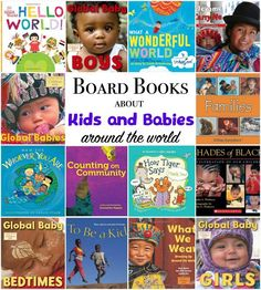 Multicultural Board Books Kids: board books about kids and babies from around the world. Adorable chunky books to get babies started on the path to global citizenship. I love the photos! Toddler Books, Childrens Books, Board Books For Babies, Kids Board, Baby Books, Kids Around The World, Preschool Books, Classroom Activities, Baby Presents