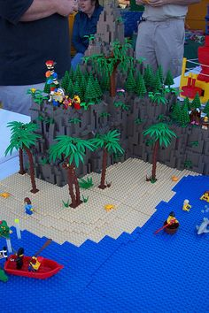 """The theme for Festival of the Masters 2007 was """"Vs. Lego Creations, Legos, Peter Pan, Planter Pots, Kids Rugs, Table Decorations, Yahoo Search, Cool Lego, Lego"""