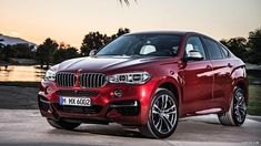 2015 BMW X6 Red