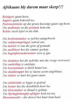 funny jokes in afrikaans * funny afrikaans jokes + funny afrikaans jokes south africa + funny jokes in afrikaans Afrikaans Language, Afrikaanse Quotes, Kids Poems, Text Messages, Teaching Kids, Cool Words, Qoutes, Funny Jokes, About Me Blog
