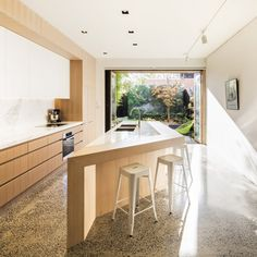 South Melbourne House 2 is a minimalist residence located in Melbourne, Australia, designed by Mitsuori Architects.