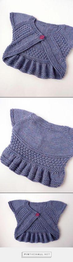 Ravelry: snowywolf's Entrechat baby vest ~~ $ €