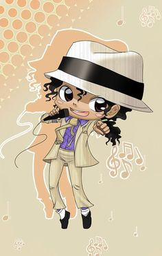 Michael Jackson by Oceans-Art. Ok this adorable no matter who you are.