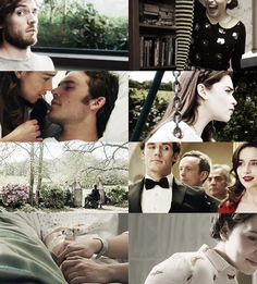 Me before You- Sam Claflin and emilia clarke