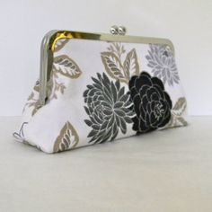 floral clutch.