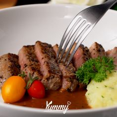 Baked Chicken Recipes, Steak Recipes, Cooking Recipes, Tenderloin Steak, Western Food, International Recipes, Diy Food, Asian Recipes, Japan Flower