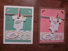 Stampin' Up! Something for Baby Stamp set, Lullaby designer paper, Baby's First Framelits By Rita Mootz independent Stampin' up! Demonstrator