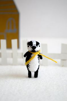 all hail the tiny things. mr. badger.