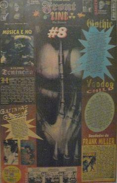 Front Zine Nº 08 publicado pelo Clube dos Quadrinheiros de Manaus no extinto Jornal do Norte em 16 de março de 1996 com autoria de Fábio Prestes, João Vicente, Mário Orestes Silva e Daniel Dante.