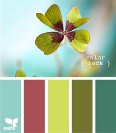 Det kan være svært at vælge de rigtige farver, hvis man skal hækle et tæppe, lave patchwork eller 1000 andre ting, hvor man ønsker lækre farverkombinationer. Jeg hopper tit forbiCountney Kirkland…