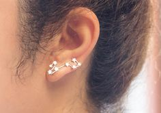 Pisces Constellation Earrings, Pisces Constellation Ear Cuffs, Constellation Ear…