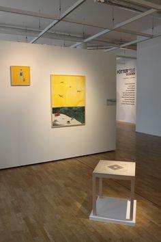 """Fötter - rörelser genom slöjden"", at Växjö konsthall, 12/9-1/11 2015. The exhibition includes work by Karl Hallberg, Johanna Törnqvist, Ida-Lovisa Rudolfsson, Fredrik Andersson, Claesmikael Svensson, Jennie McMillen, Juan Cappa, Ulrika Roslund Svensson, plus an essay by Christine Hansen."