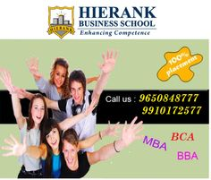 MBA College in noida | BBA college in noida | BCA college in noida  Admission Open for #MBA , #BBA , #BCA. .For more Details Visit our Website@ http://www.hierank.org/admissions.php or call @ 9650848777, 9910172577
