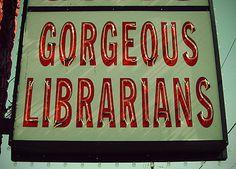 gorgeous librarians