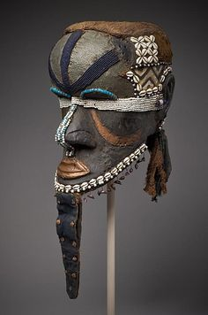 Mask (Bwoom) by  Unknown Artist - DRC