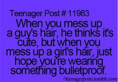 Something bulletproof won't help you