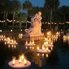 Nights of a Thousand Candles at Brookgreen Gardens is a tradition for locals and visitors alike. Each December thousands of candles and sparkling lights set the gardens aglow. Top off your magical evening with live entertainment or visit to one of the ind Myrtle Beach Attractions, Myrtle Beach Vacation, Myrtle Beach Sc, Wonderful Places, Beautiful Places, Amazing Places, Murrells Inlet, Pawleys Island, Sparkling Lights