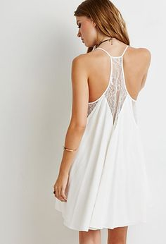 Lace-Paneled Cami Dress | Forever 21 - 2000054123