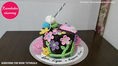 happy birthday mom cake birthday cake for grandma happy birthday mummy c. birthday mom happy birthday mom cake birthday cake for grandma happy birthday mummy cake design ideas decorating Cake Decorating For Beginners, Cake Decorating Classes, Easy Cake Decorating, Decorating Ideas, Happy Birthday Mom Cake, Mother Birthday Cake, Cake Birthday, Simple Birthday Cake Designs, Simple Cake Designs