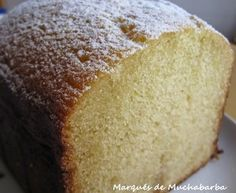 Pound Cake Recipes, My Recipes, Sweet Recipes, Favorite Recipes, Recipies, Food N, Food And Drink, Pan Dulce, Bread Machine Recipes