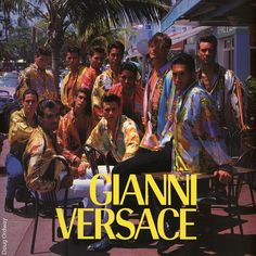 Thank you Gianni for allowing me to be a part of your vibrant world! RIP GIANNI VERSACE #gianniversace #giannitribute