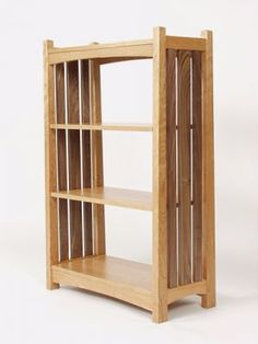 Superb Breznick Mission Bookcase By Joe Breznick, A Member Of The Guild Of Vermont  Furniture Makers