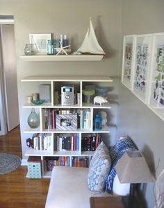 DIY Open Bookshelf Plan
